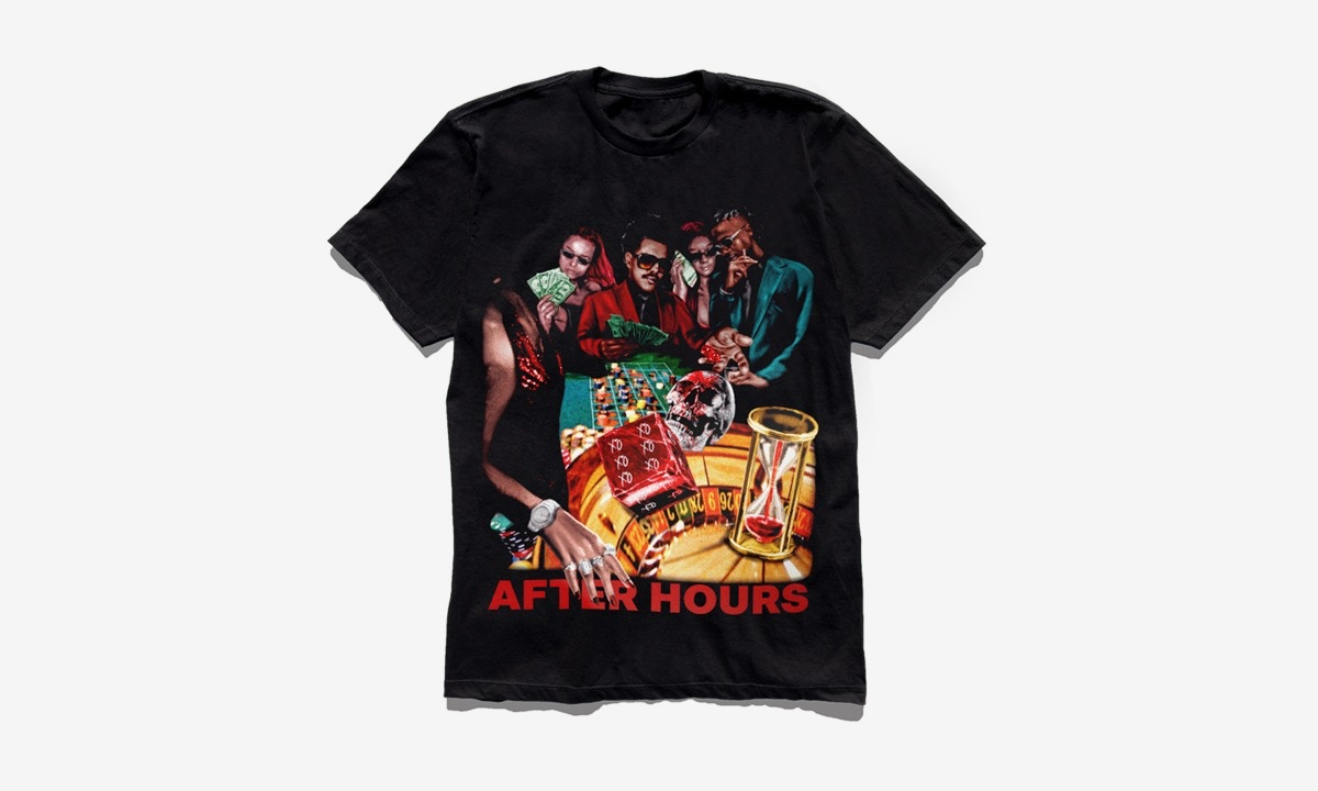 A$AP Rocky 为 The Weeknd 设计《After Hours》新专辑周边