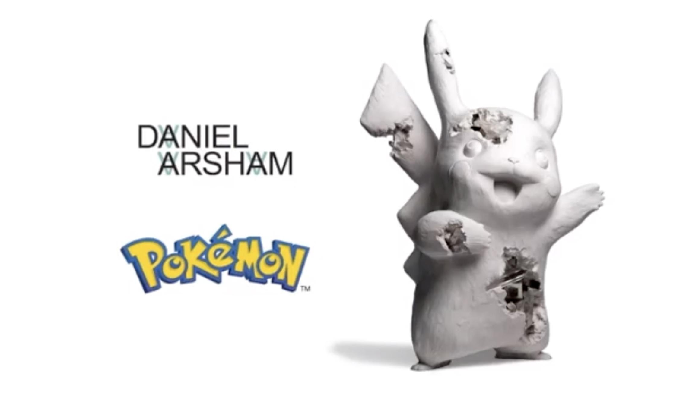 Daniel Arsham x Pokémon x UNIQLO UT 三方联名预告释出