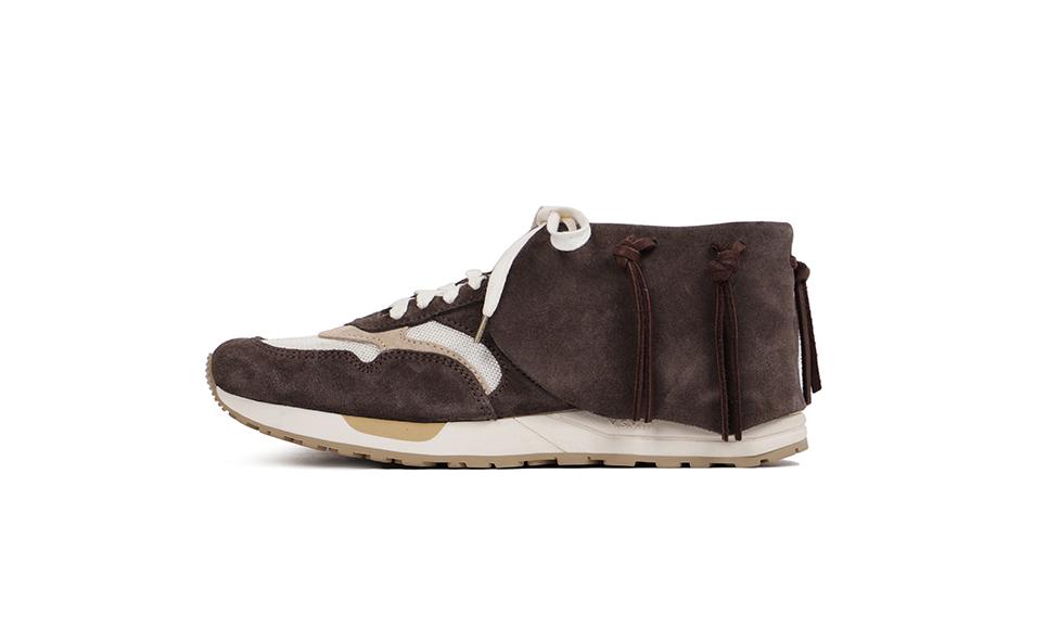 visvim 为招牌鞋款 Roland Jogger 加上了 Lhamo「边裙」
