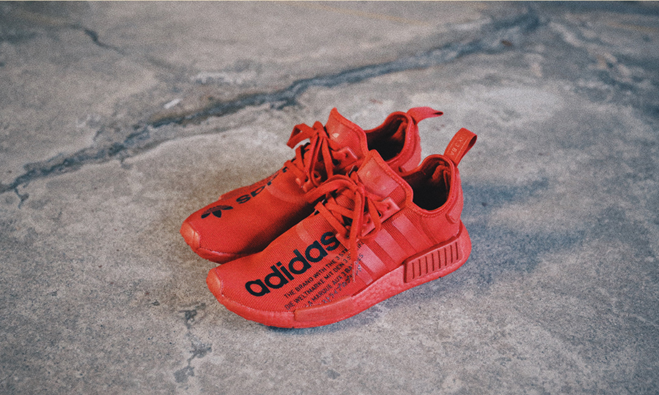 atmos x adidas Originals NMD R1 TRIPLE RED 将于 4 月 18 日发售