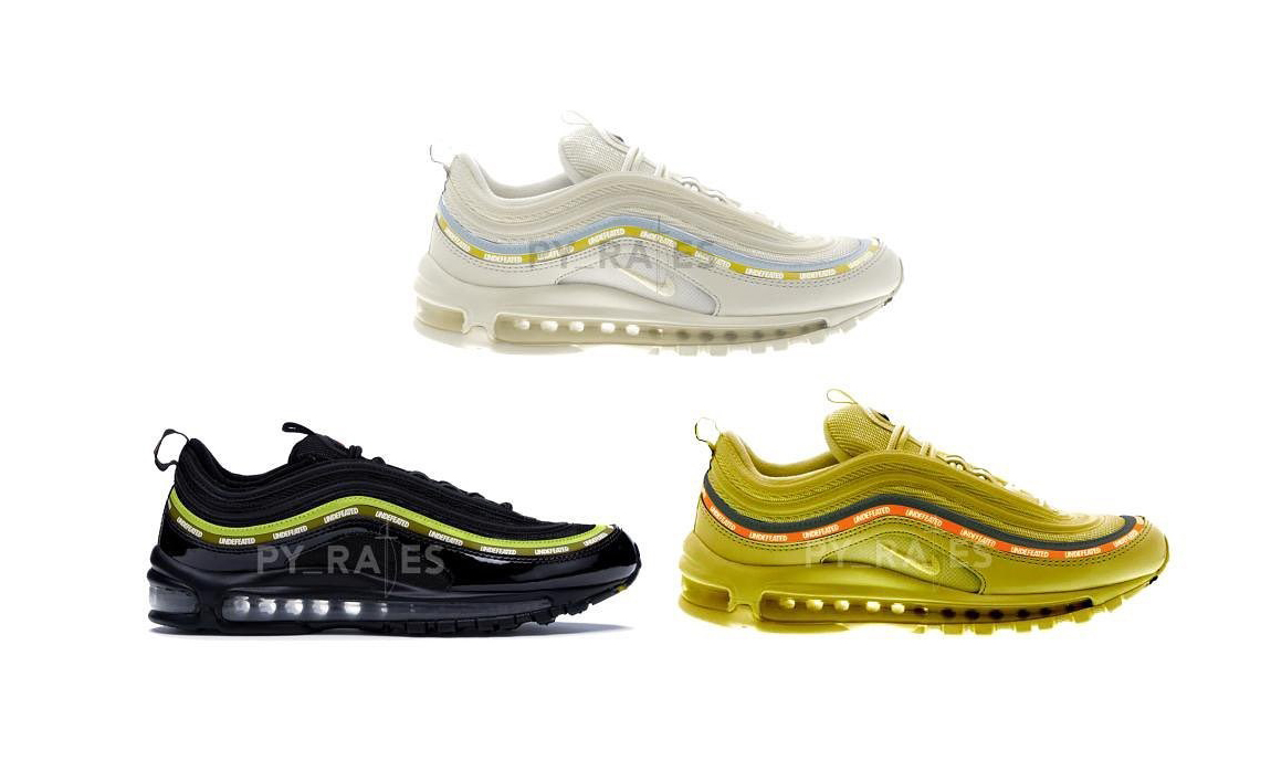 UNDEFEATED x Nike Air Max 97 经典设计即将回归