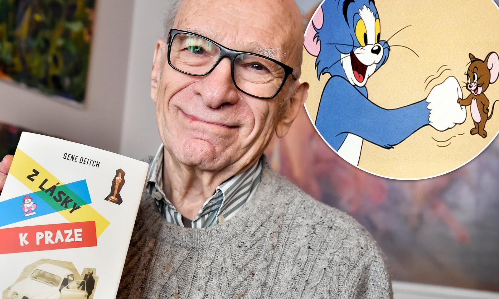 《猫和老鼠》导演、知名动画师吉恩·戴奇离世,享年 95 岁