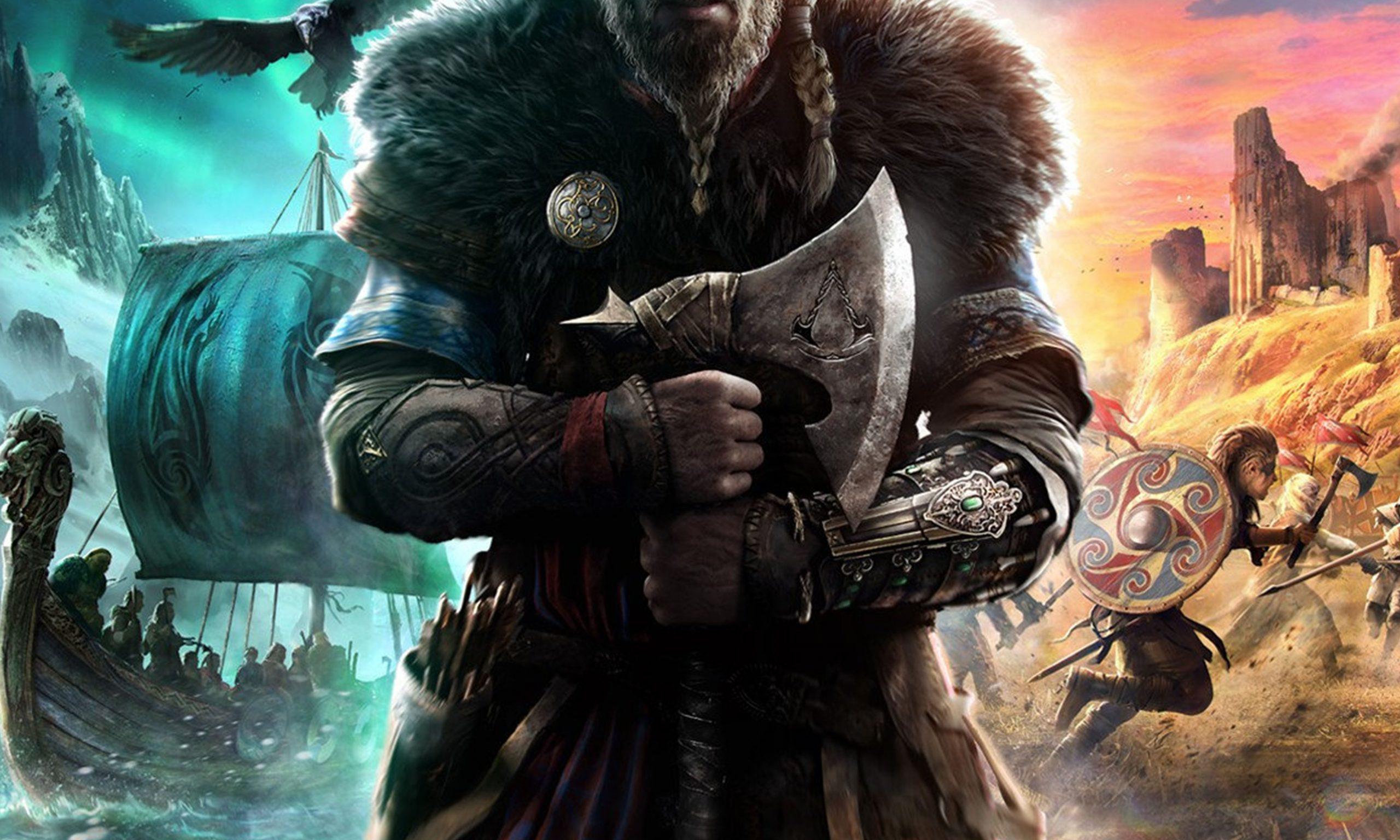 育碧公布刺客系列新作《刺客信条:英灵殿》