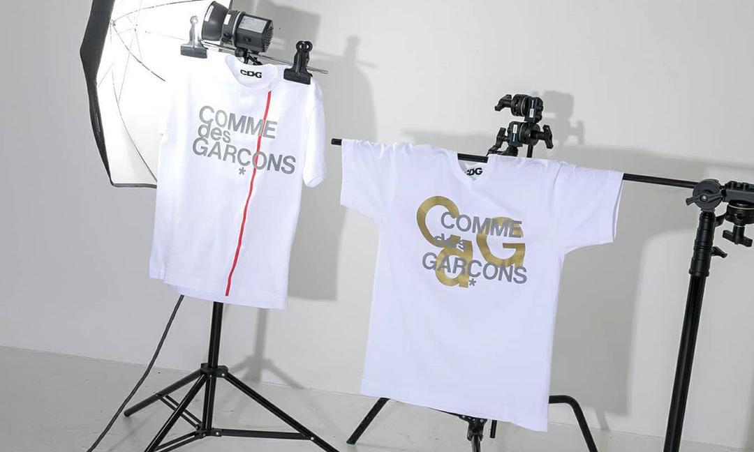 CDG 推出 Archive T-shirt 以及帽款新品