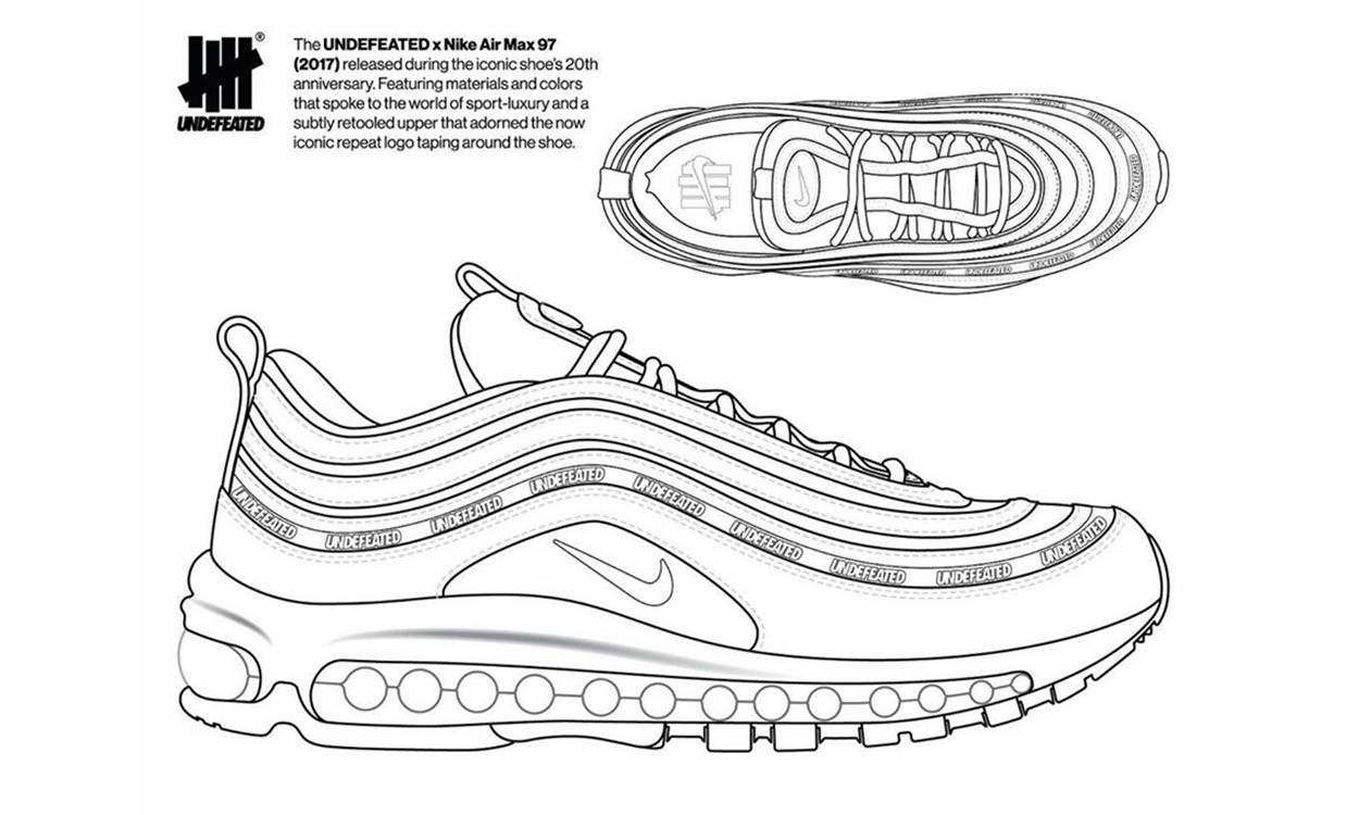 「自定义」第三弹,UNDEFEATED x Nike Air Max 97 创意设计比拼揭幕