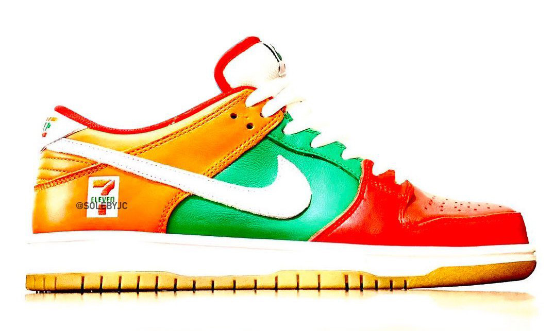 7-11 也联名?抢先预览 7-ELEVEn x Nike SB Dunk