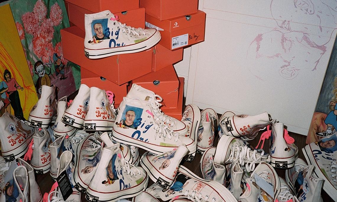 Tyler, The Creator 邀请新生代艺术家设计 CONVERSE Chuck 70 鞋款