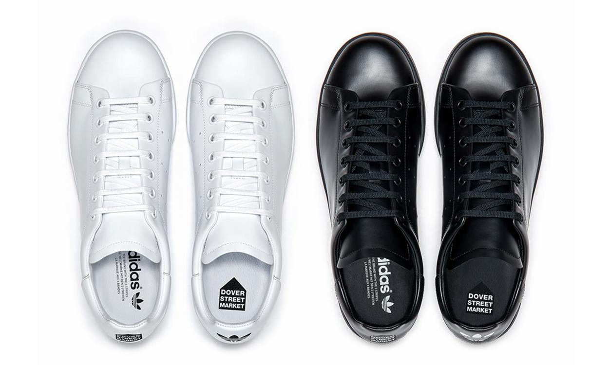 抢先预览 Dover Street Market x adidas Stan Smith 全新设计