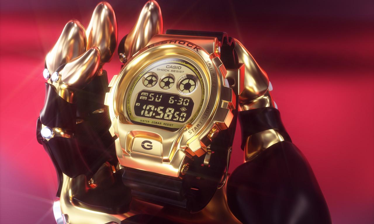 展望未来,G-SHOCK 推出 GM6900 25 周年纪念款腕表