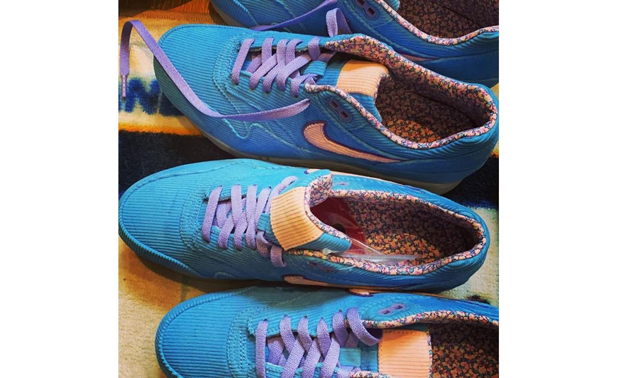 陈冠希亲晒 Nike Air Max 1 新设计