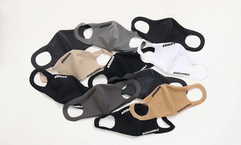 可重复使用,Atmos 与泳装品牌 GUACAMOLE 联手推出抗菌口罩
