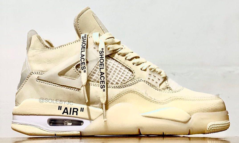 Off-White™ x Air Jordan IV 或将于今夏迎来发售