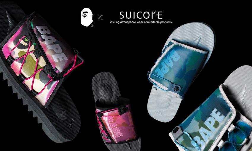 BAPE® x SUICOKE 联名系列释出更多款式