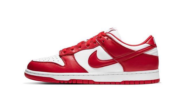 Nike Dunk Low「University Red」定于 6 月 12 日发售