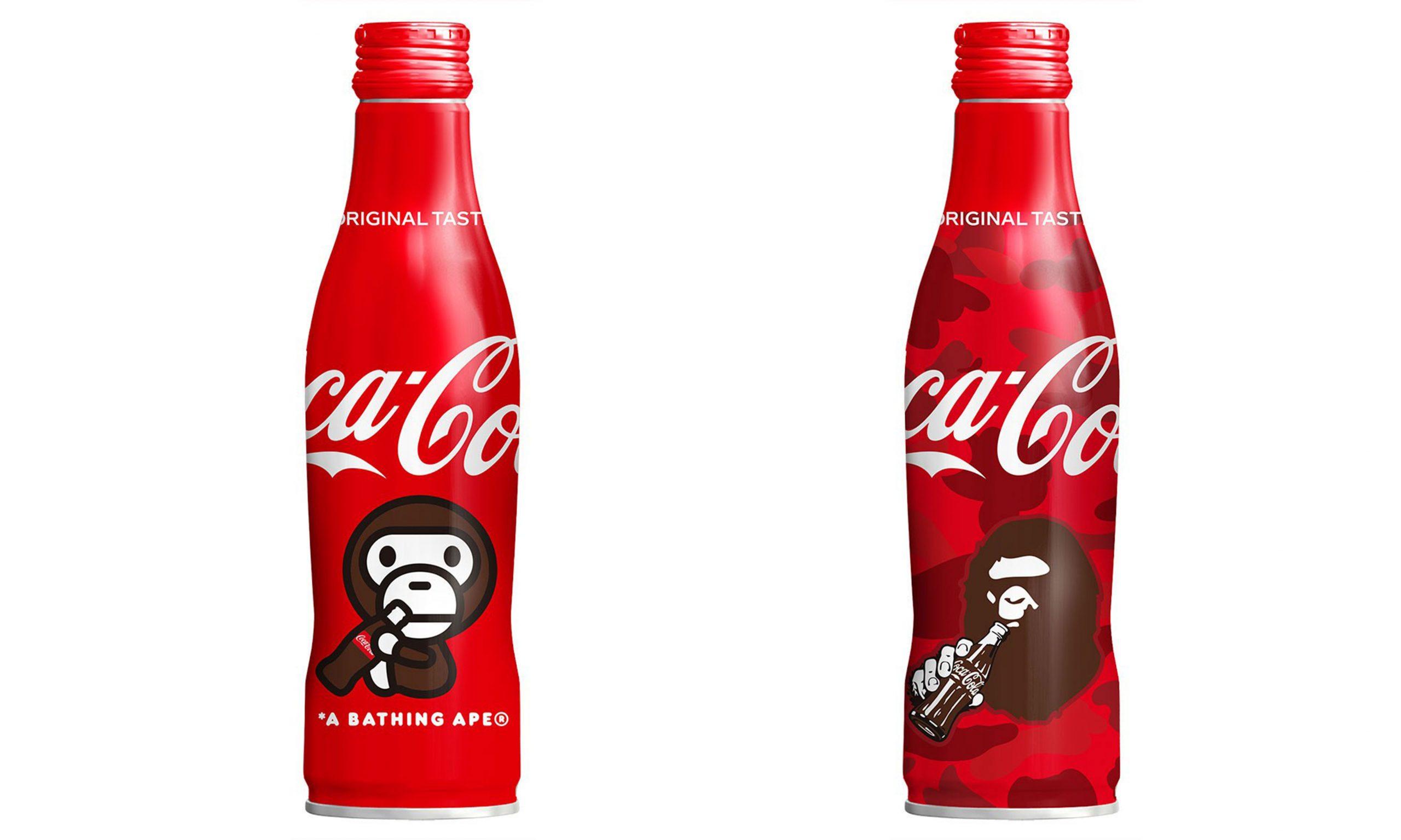可口可乐与 A BATHING APE® 合作发布饮料瓶