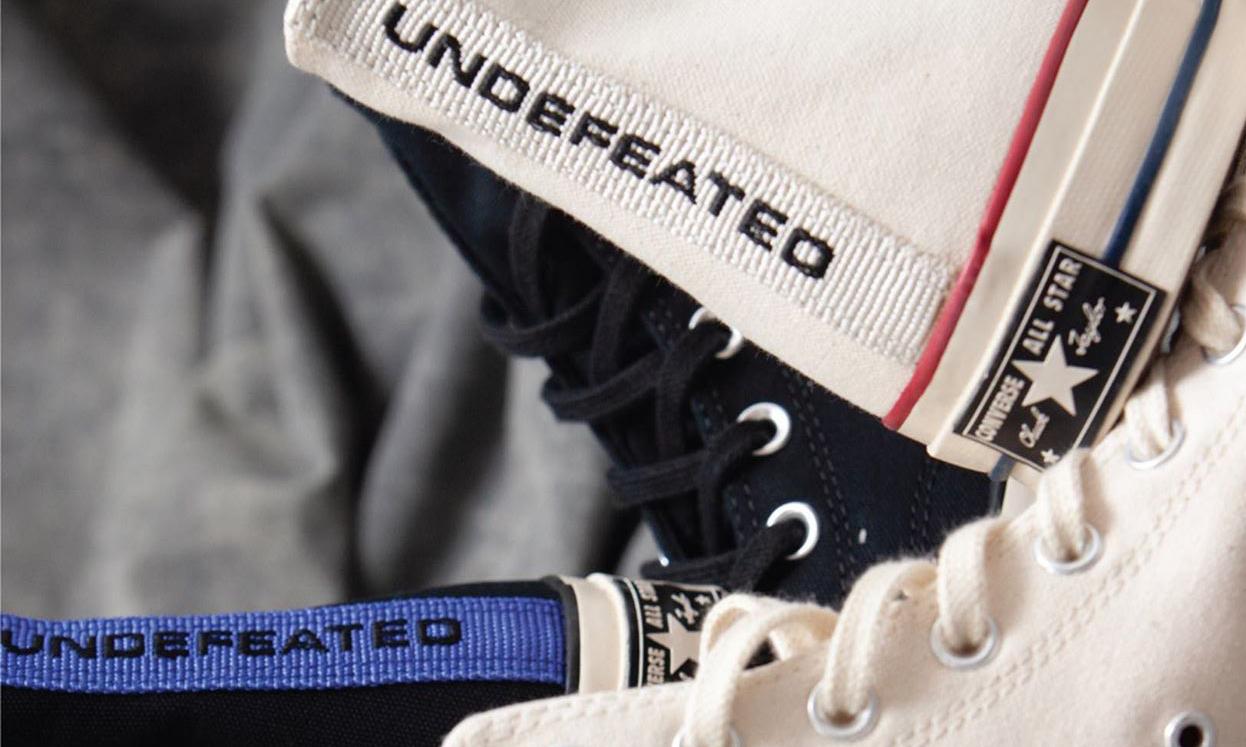 UNDEFEATED x CONVERSE 联名 Chuck 70 系列即将发售