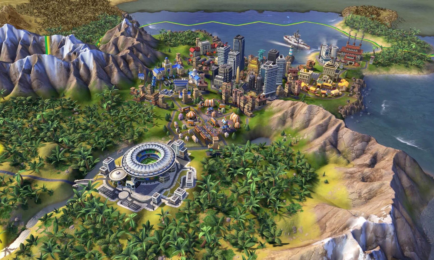 《文明 6》加入 Epic Games「喜加一」套餐