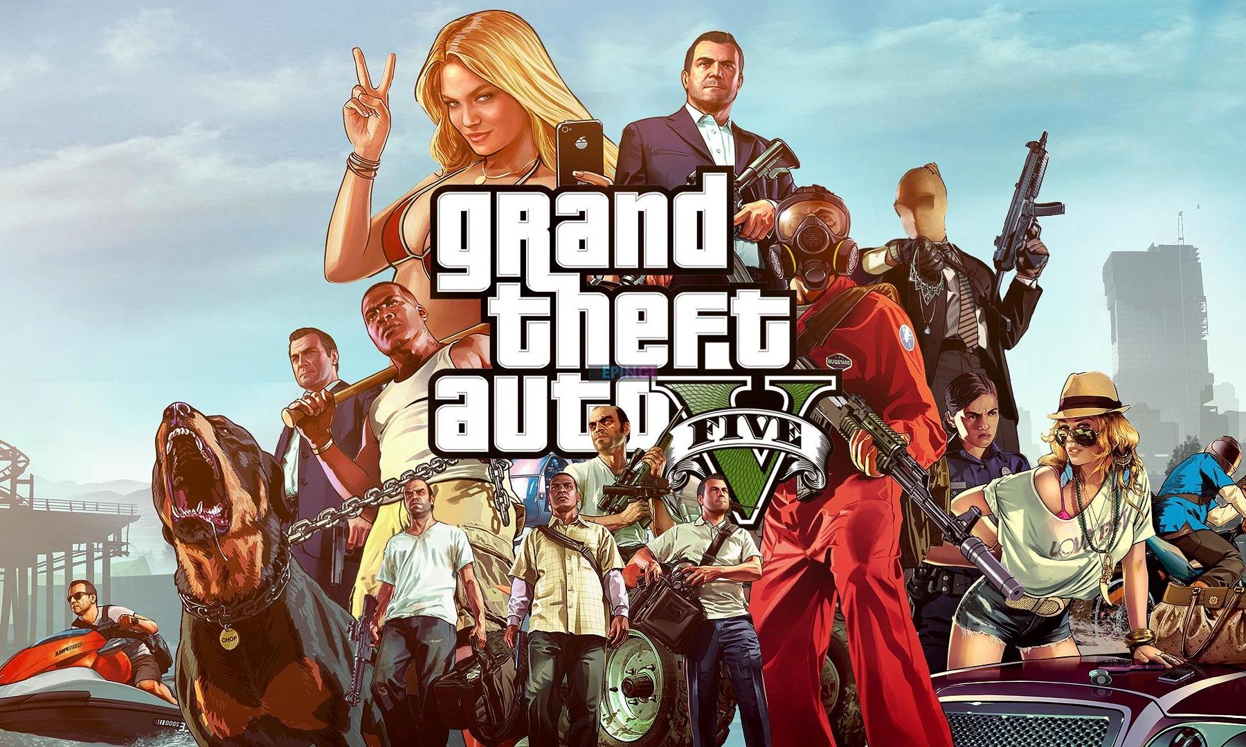 《侠盗猎车手 V》成为 Epic Games 「本周限免」