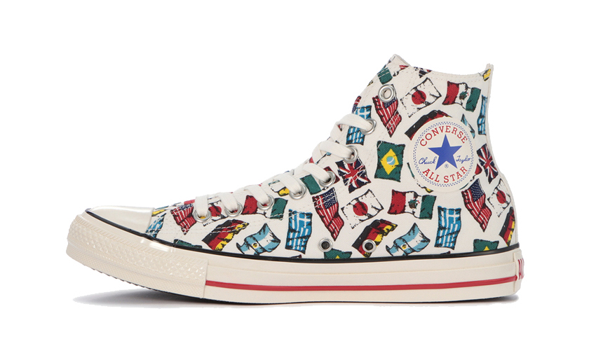 CONVERSE Japan 发布全新 Chuck Taylor「All Nations」系列
