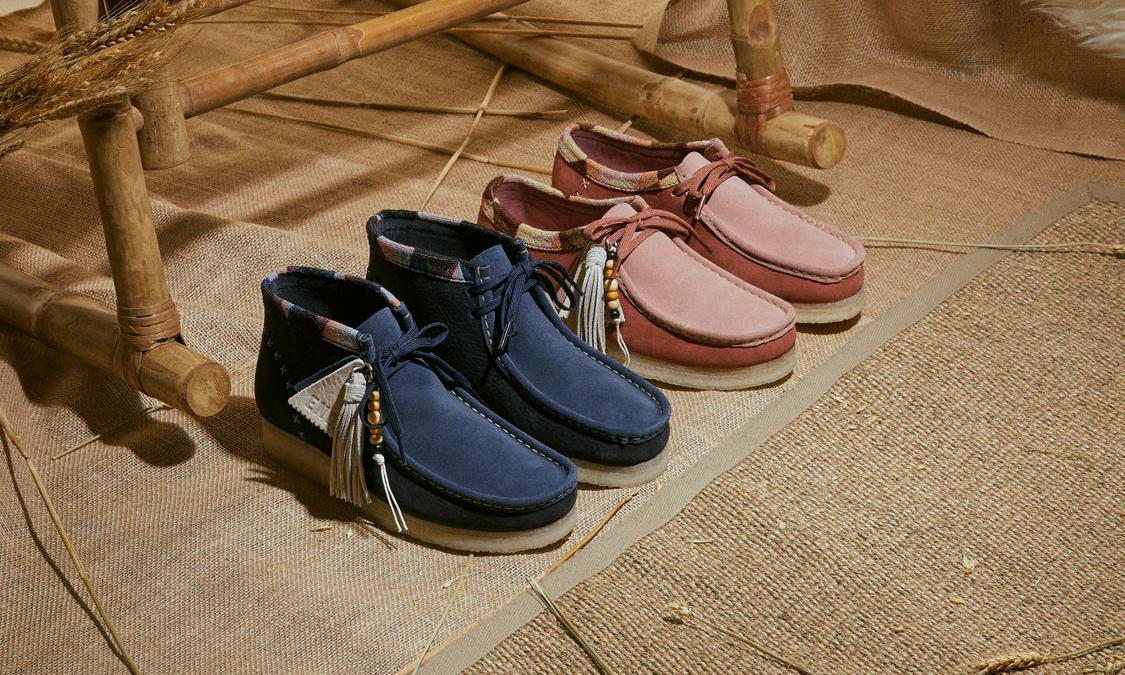 END. 与 Clarks Originals 打造「 Artisan Craft」联名鞋履系列