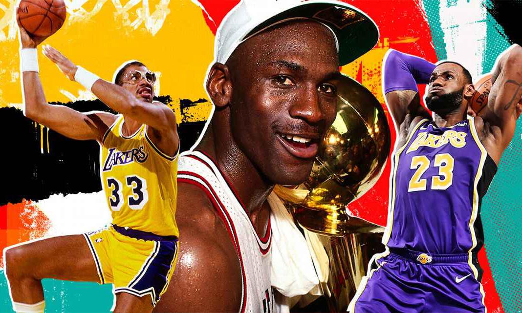 ESPN 评选 NBA 史上 74 位最伟大的球员