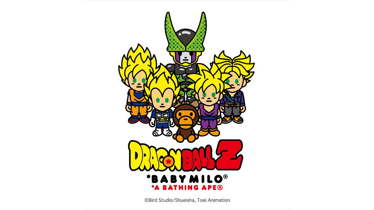 经典再续,BAPE® x DRAGON BALL Z 联名系列大热登场