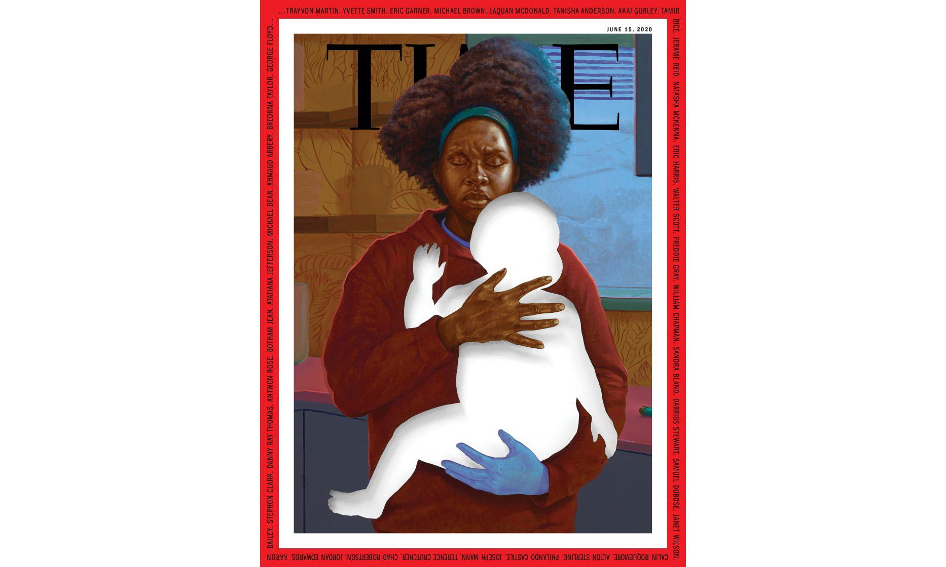 《时代》杂志最新一期封面缅怀 George Floyd