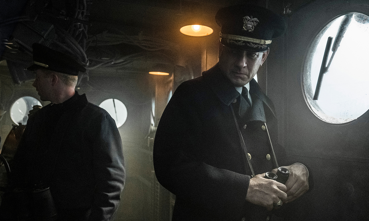 因新冠退档后,Tom Hanks 新作《怒海战舰》确认于 Apple TV 上映