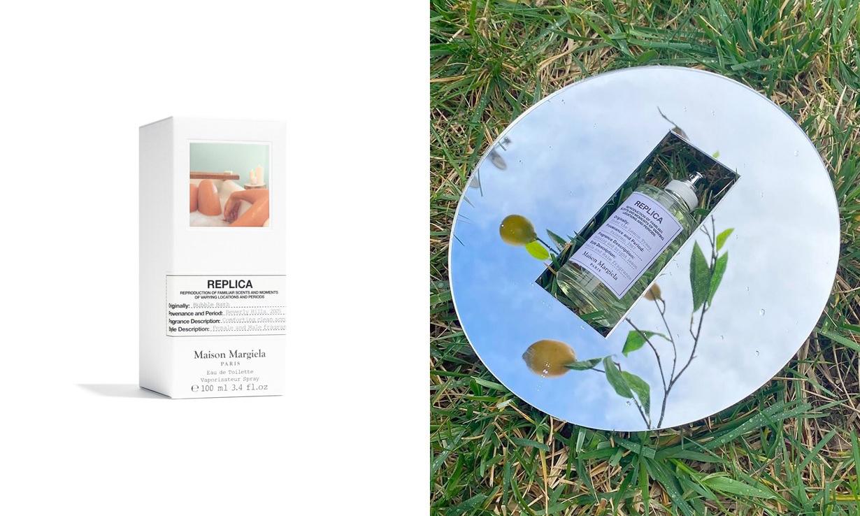 沐浴在悠闲假日,Maison Margiela 推出全新香水「Bubble Bath」