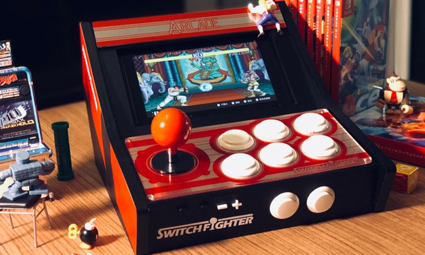 秒变经典街机,Switch Fighter 操控装置开启众筹