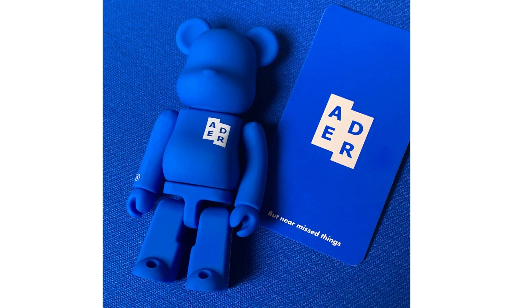 ADER Error x MEDICOM TOY 联乘 BE@RBRICK 玩偶正式登场