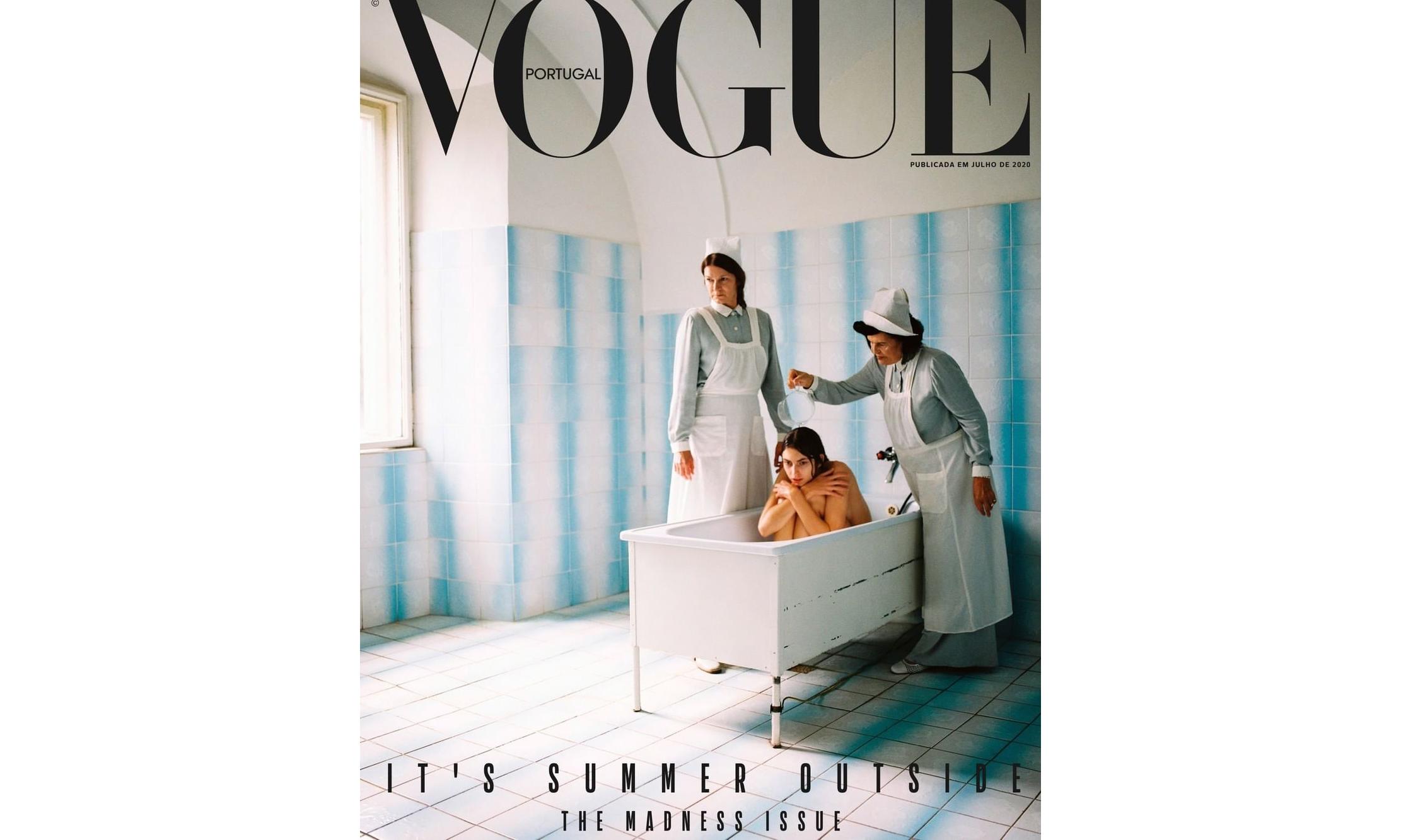 葡萄牙版《VOGUE》因对精神病人的不恰当表现惹争议
