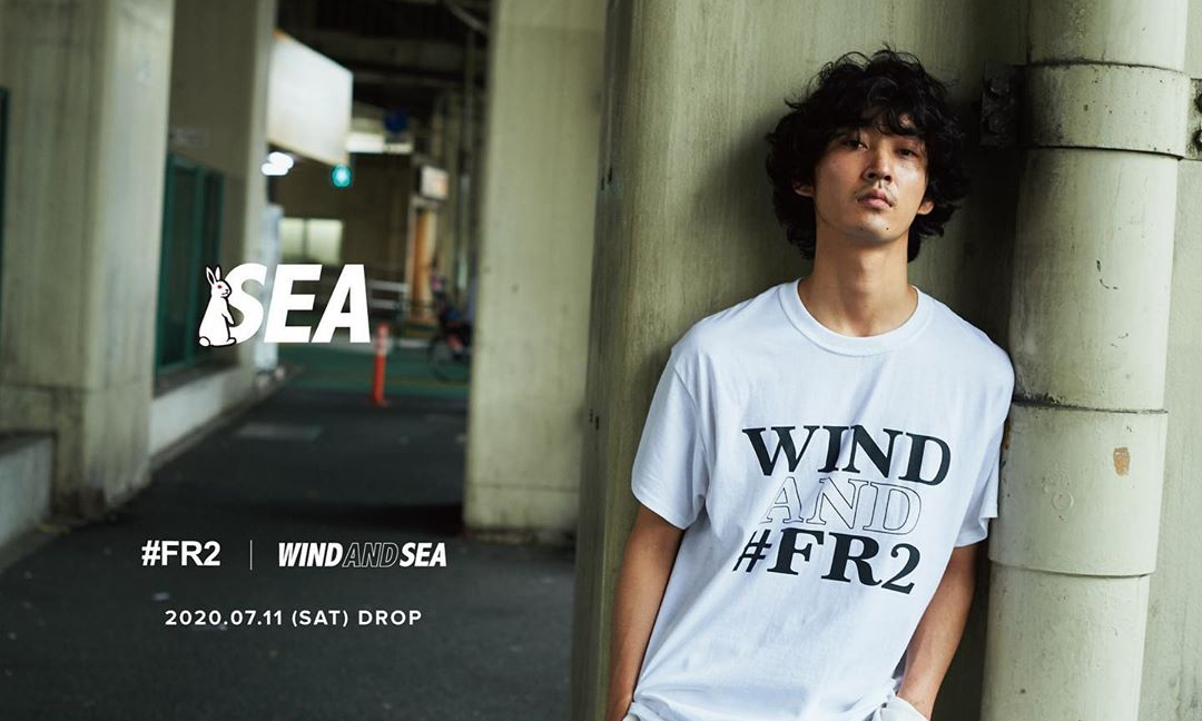 FR2 x WIND AND SEA 合作预告正式发布