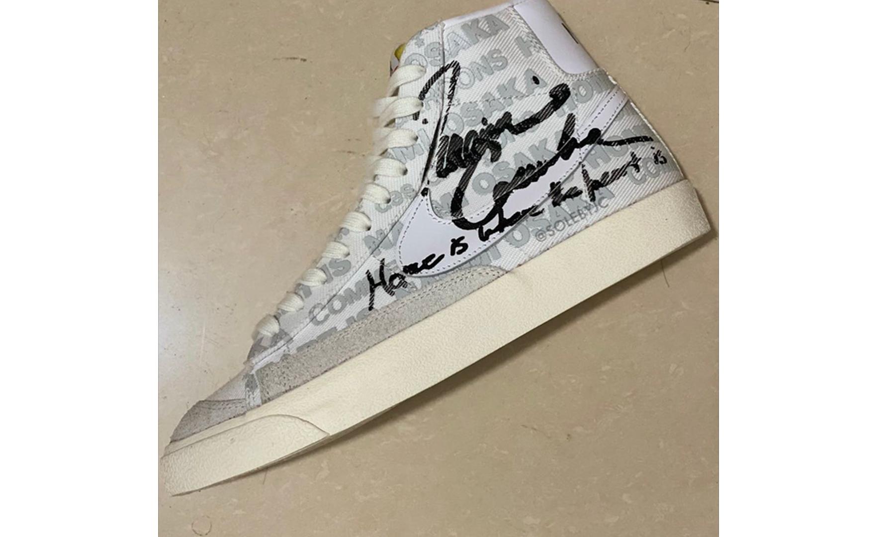 Naomi Osaka x COMME des GARCONS x Nike Blazer Mid 三方联名首度曝光
