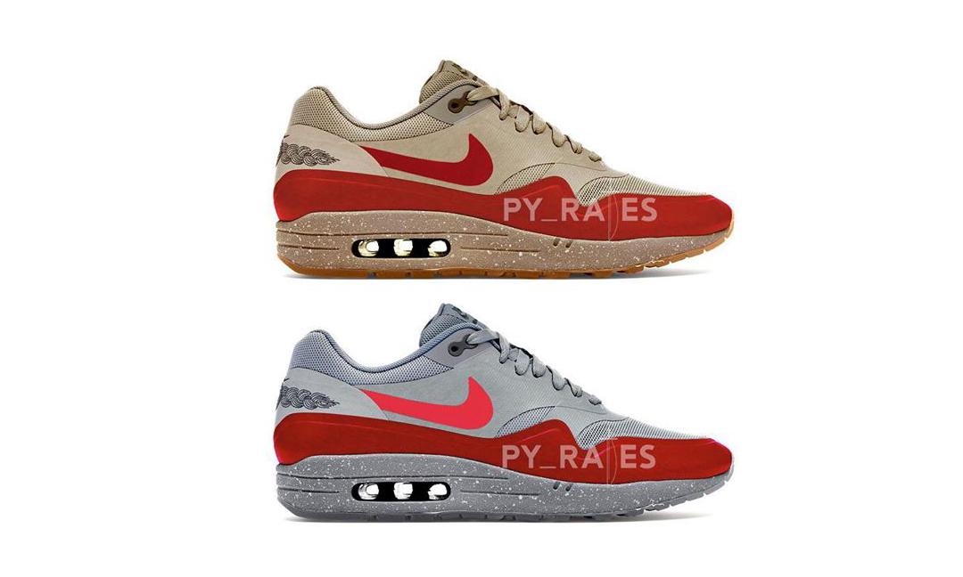 除了「死亡之吻」,CLOT x Nike Air Max 1 再追加两配色