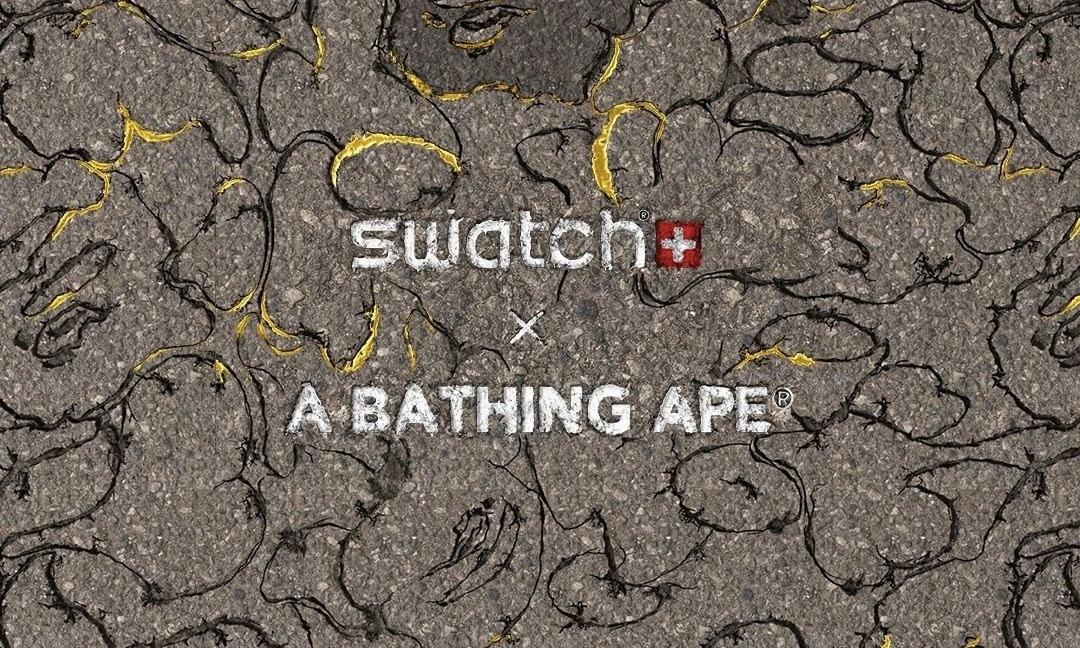 A BATHING APE® x Swatch 全新联乘企划公开