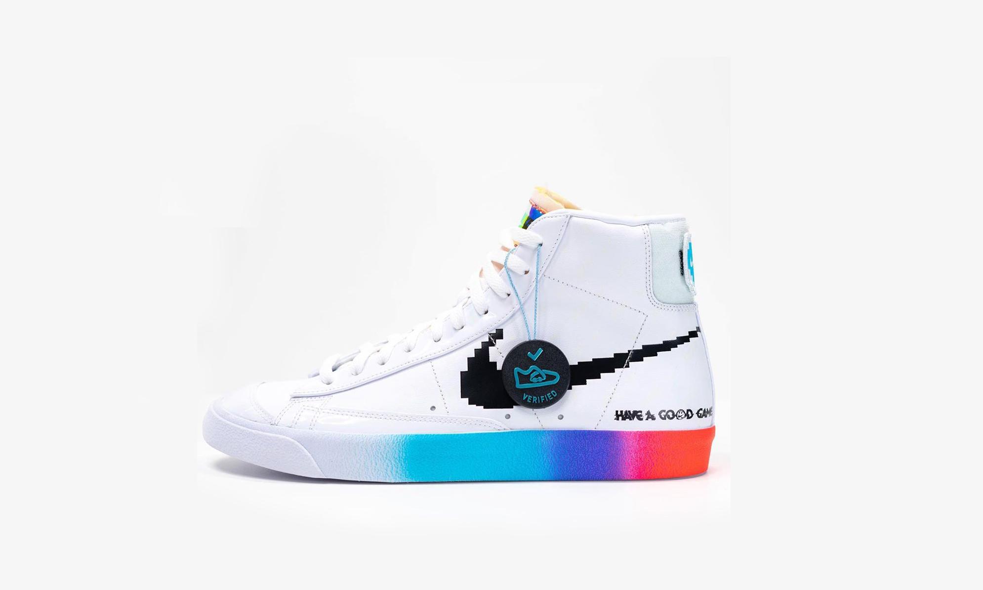 全新游戏主题 Nike Blazer Mid 首度亮相