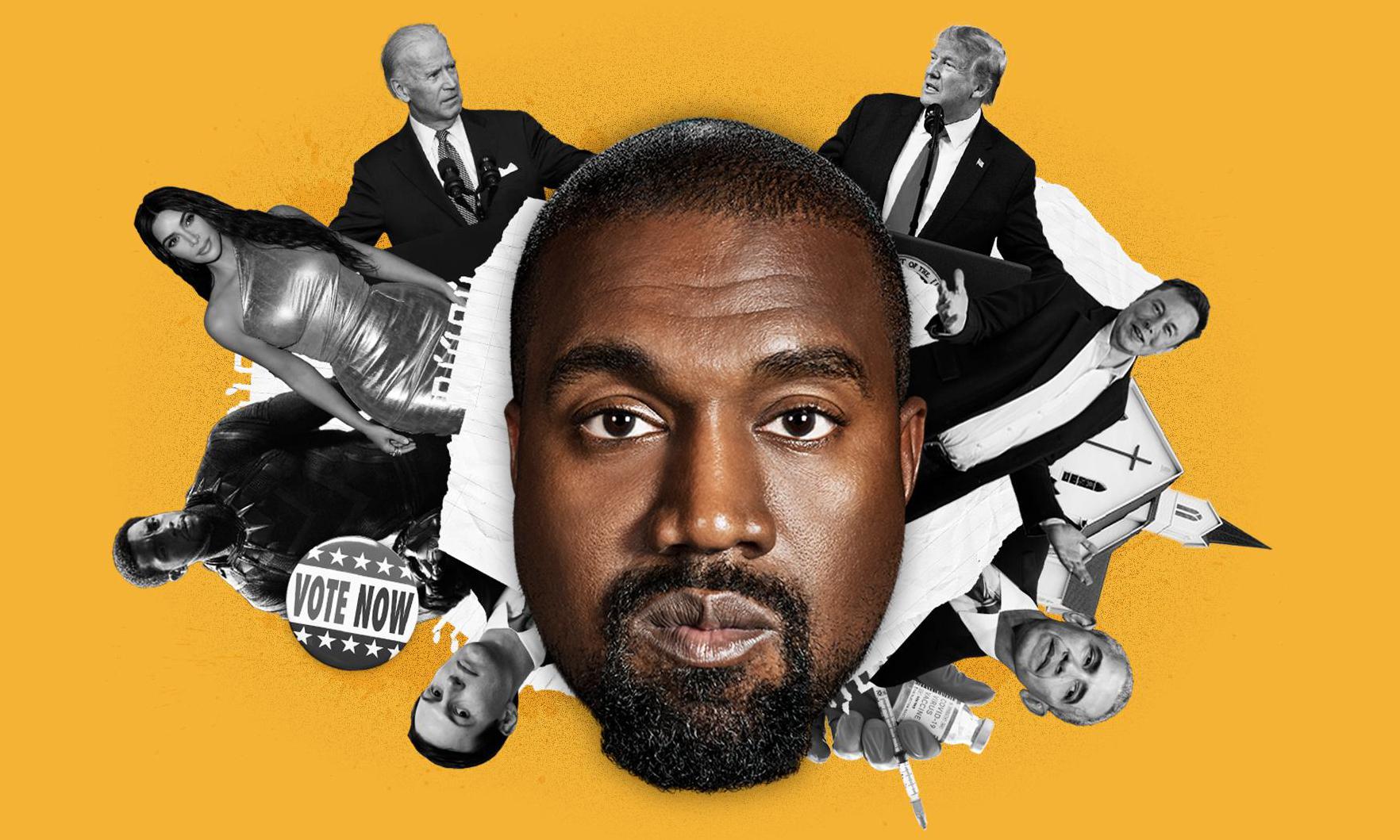 对于竞选总统这件事,Kanye West 是认真的