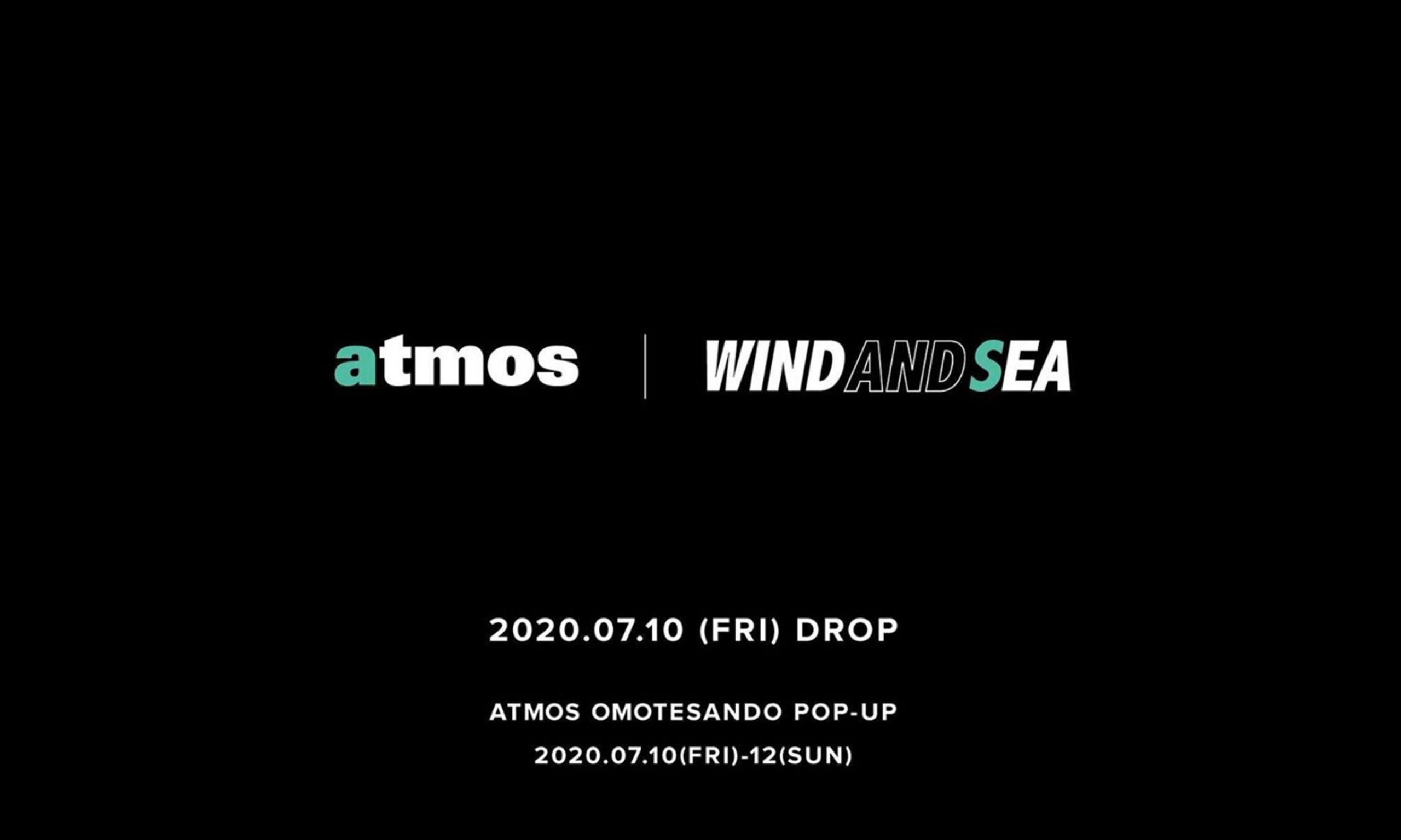 atmos x WIND AND SEA 联名合作系列公开