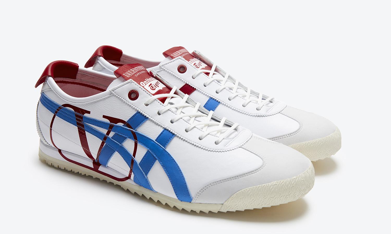 VALENTINO GARAVANI x Onitsuka Tiger  MEXICO 66™SD 联乘鞋款即将发售