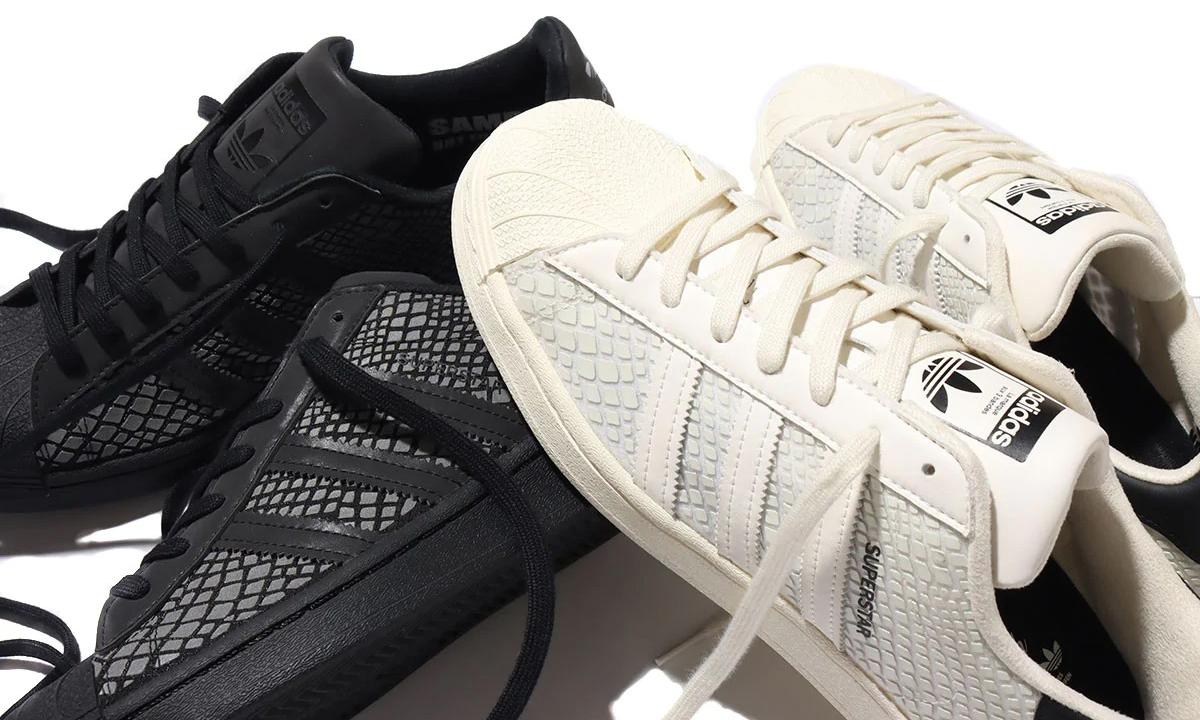 atmos 携手 adidas Superstar 打造全新「G-SNK」系列