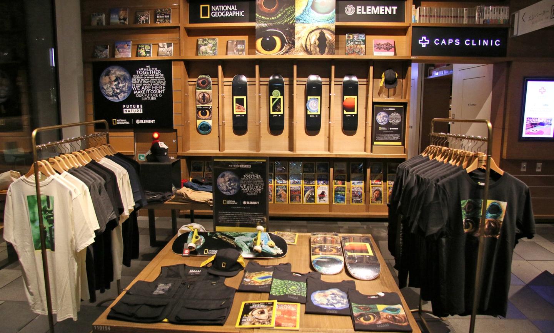 《国家地理》x Element Pop-Up Store 东京开催