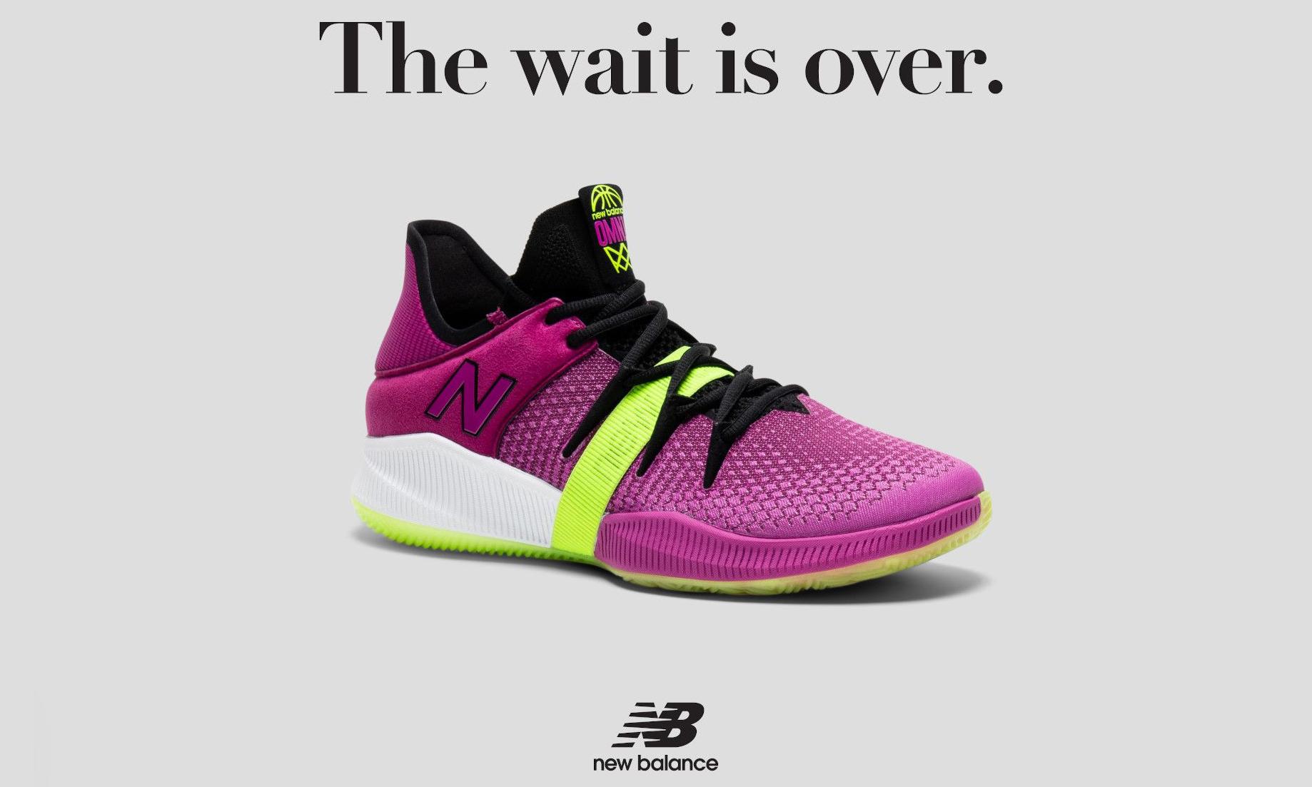 肆意出彩,New Balance 发布全新 OMN1S Low 系列篮球鞋