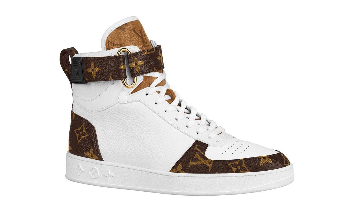 多款设计,Louis Vuitton 推出 Logo 印花球鞋系列