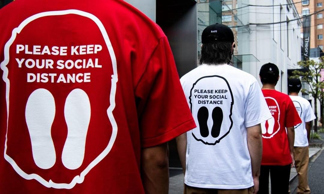BAPE® 全新「PLEASE KEEO YOUR SOCIAL DISTANCE」胶囊系列登场
