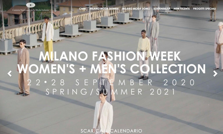 意大利时装协会发布 2021 春夏米兰时装周时间表