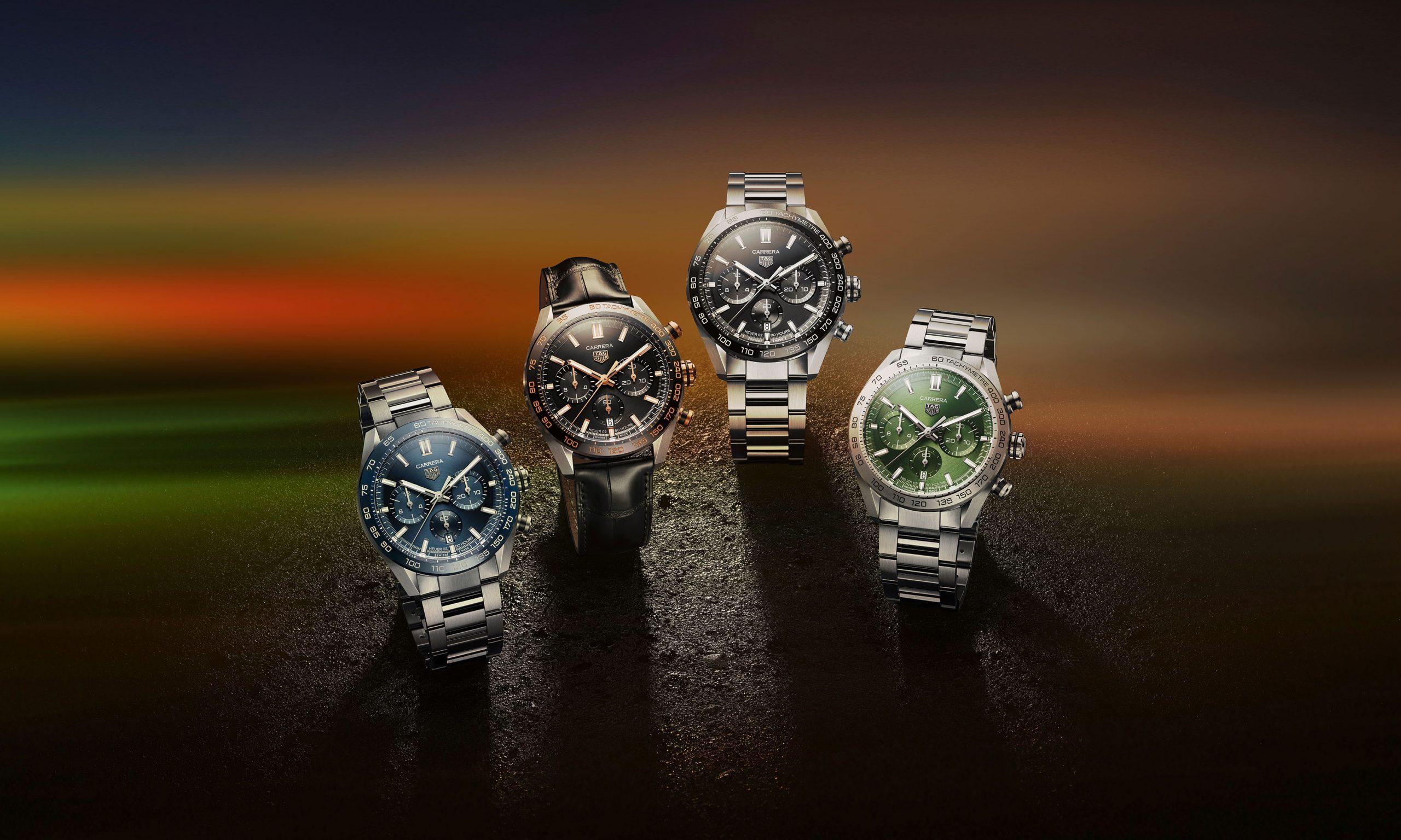 TAG Heuer 发布 2020 新品腕表
