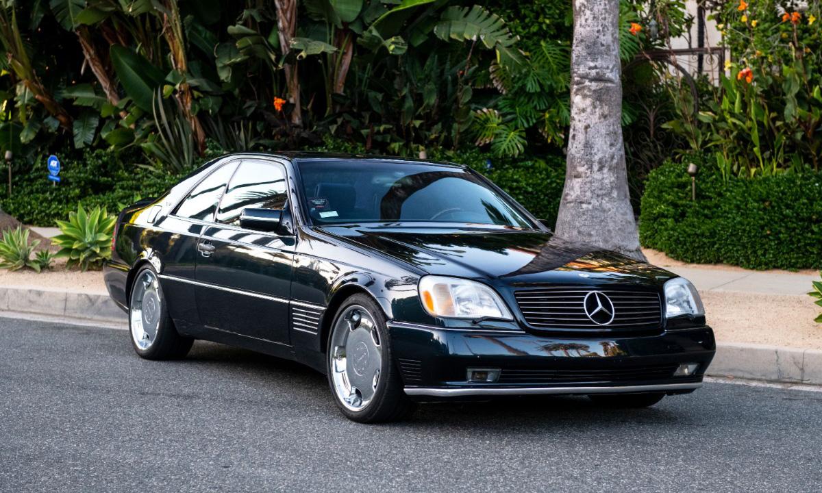 乔丹拍卖私人 24 年车龄的奔驰 S600,起拍价仅为 23 美元