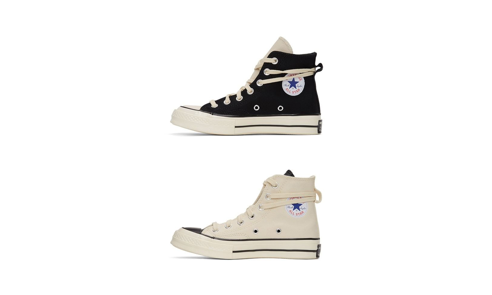SSENSE 今日将补货发售 ESSENTIALS x CONVERSE Chuck 70