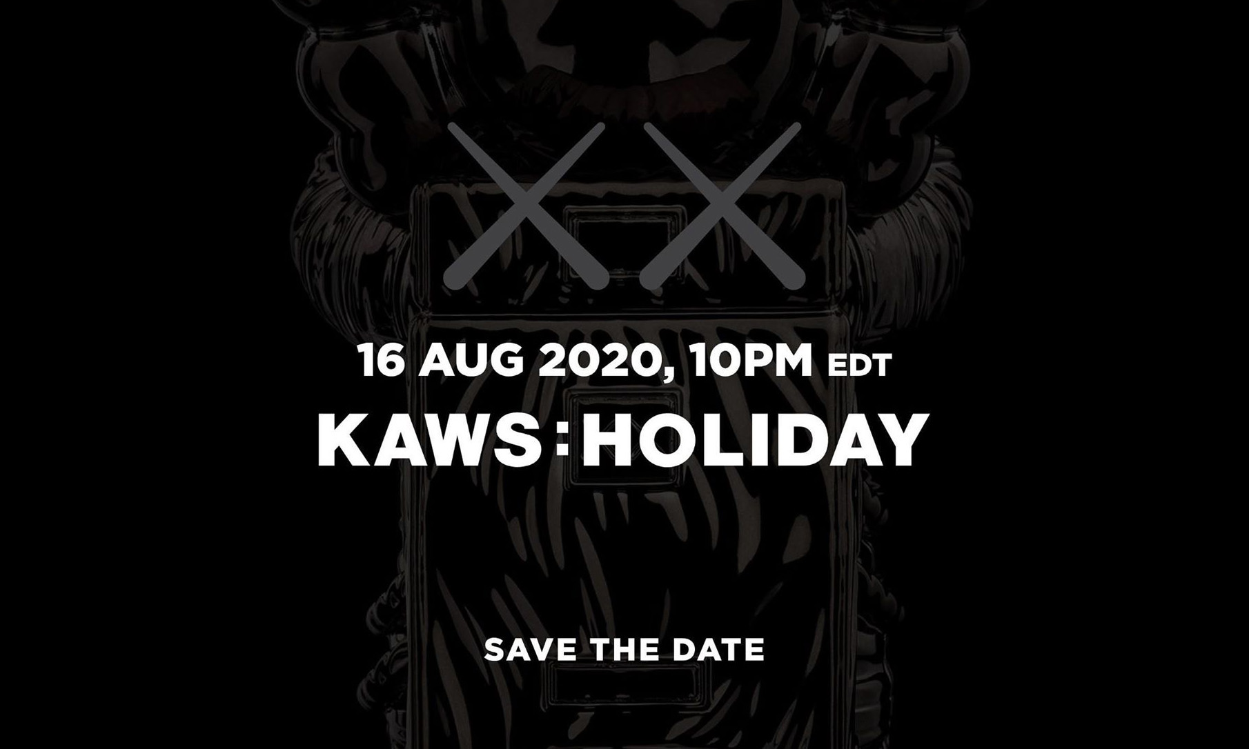 KAWS 宣布即将带来 KAWS:HOLIDAY 新企划